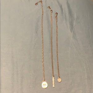 BCBGeneration necklace trio